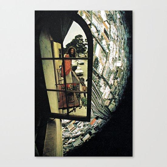 virtual mirror Canvas Print