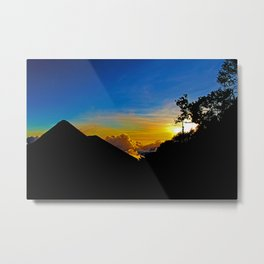 Sunset To Dream Of Metal Print