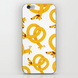 Pretzel Dog iPhone Skin