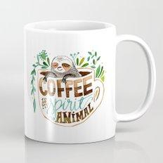 Coffee is my spirit animal Mug
