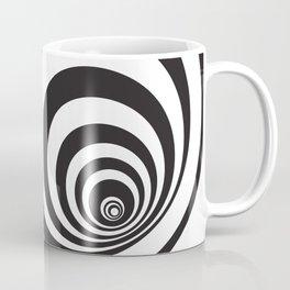 Black&White Spirally Coffee Mug