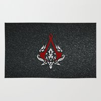assassins creed Area & Throw Rugs featuring Creed Assassins  by neutrone