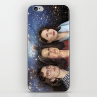 yankees iPhone & iPod Skins featuring THE THREE GREAT LADIES by Kaitlin Smith