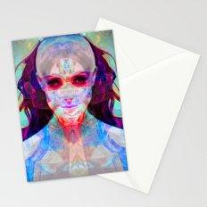 machina ex femina Stationery Cards