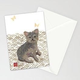 YORKIE, Yorkshire Terrier, Dog  Stationery Cards