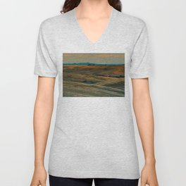 The Beauty of Nothing and Nowhere Unisex V-Neck