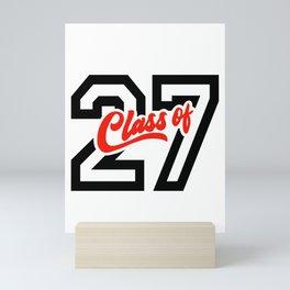 Class of '27 - 2027 Mini Art Print