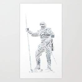Pringle Reiver Art Art Print