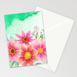 Flowers bouquet 72 Stationery Cards