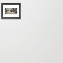 Kansas City Firefighter Pride Framed Art Print