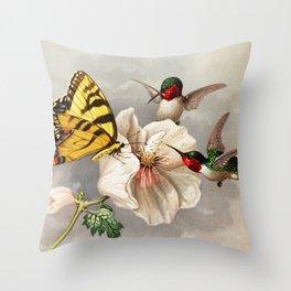decorative pillow throw pillow designer pillow butterfly and flower pillow gift for her Monarch Butterfly Pillow pillow case