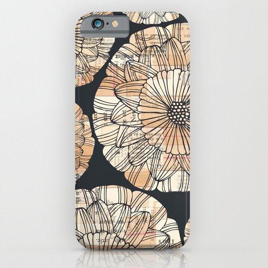 vintage botanical iPhone & iPod Case