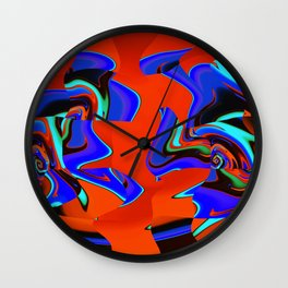Robotic Rivals Wall Clock