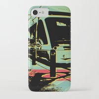 train iPhone & iPod Cases featuring Train by Pedro Nogueira