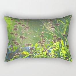 Spiderweb Takeover I Rectangular Pillow