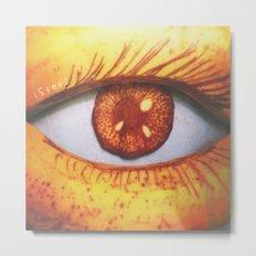 Banana Eye Metal Print