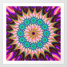 Abstract VXV Art Print