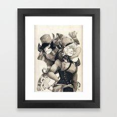 WORST FRIENDS Framed Art Print