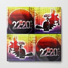 22-20s Metal Print