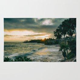Cloudy Sunset Rug