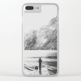 THE MOUNTAINS III / Norway Clear iPhone Case