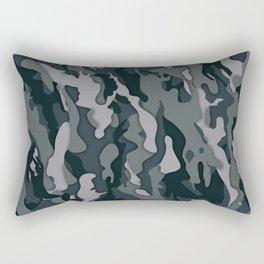 Dark Camo Rectangular Pillow
