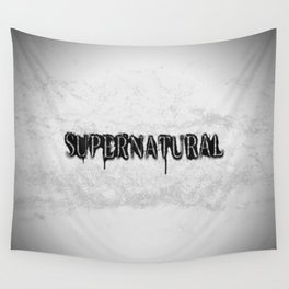 Supernatural monochrome Wall Tapestry