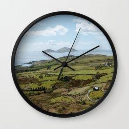 Hills of Ireland - County Kerry Wall Clock