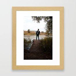 Luke Framed Art Print