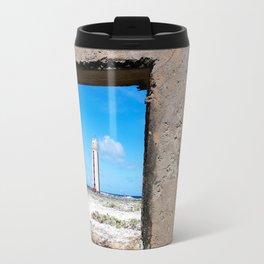 Through the Window Lighthouse Travel Mug