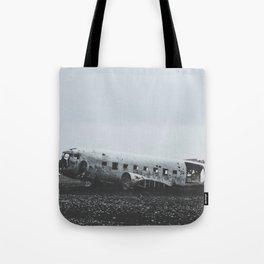 Sólheimasandur Plane Wreck, Iceland Tote Bag