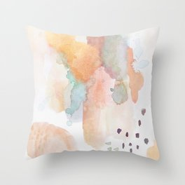 shifting dimensions Throw Pillow