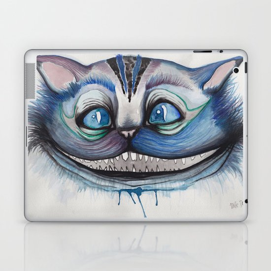 Cheshire Cat Grin - Alice in Wonderland Laptop & iPad Skin