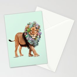 SUCCULENT LION Stationery Cards