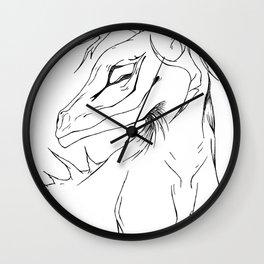 Ludwig creature Wall Clock