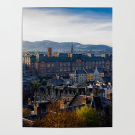 Edinburgh Sunrise Poster