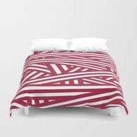 chaos Duvet Covers featuring Chaos by Alexandra Gambaro
