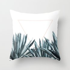 Agave Triangle Throw Pillow
