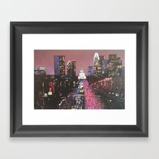 Soco Sky Framed Art Print
