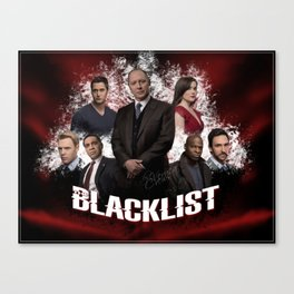 The Blacklist - Season 2 - Fanart  Canvas Print