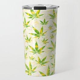 Weed OG Kush Pattern Travel Mug