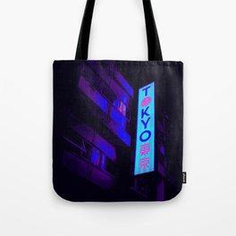Retro Tokyo Tote Bag