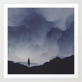 The Search Art Print