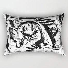 Shelter - b&w Rectangular Pillow