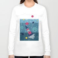spaceship Long Sleeve T-shirts featuring Spaceship by Kakel