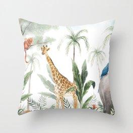 Clarice's Jungle Throw Pillow