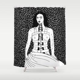 Frida Kahlo - Broken Column Shower Curtain