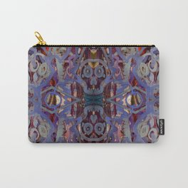Skulls Purple Rouge Carry-All Pouch