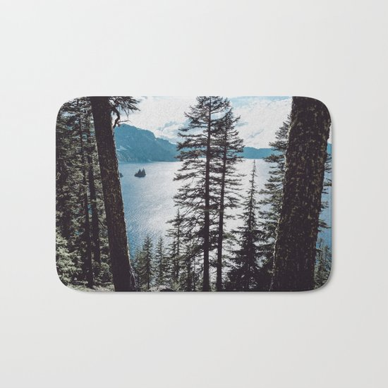 Mountain Lake Retreat Bath Mat