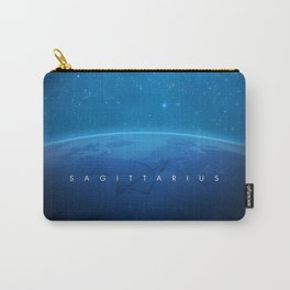 Sagittarius: Astrological Art Carry-All Pouch